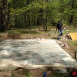<b>Garage Deconstruction, East Dorset, Vermont - May 2016<b>