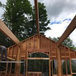 <b>Custom Cedar-Sided Home, Woodstock Vermont - May 2017<b>